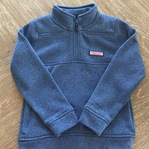 Boys Vineyard Vines 1/4 zip pullover sweater